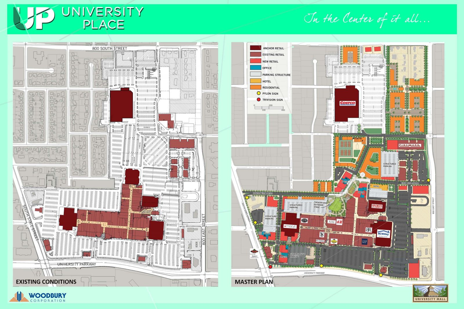 University Place Master Plan
