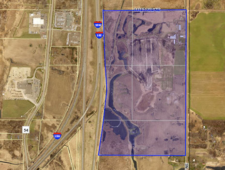 Columbus, MN: 100 Acres for Sale Photo