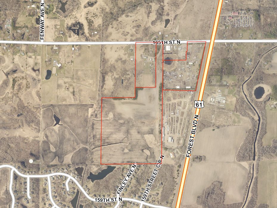 Hugo, MN: Three Premier Sites Totaling 75 Acres Photo