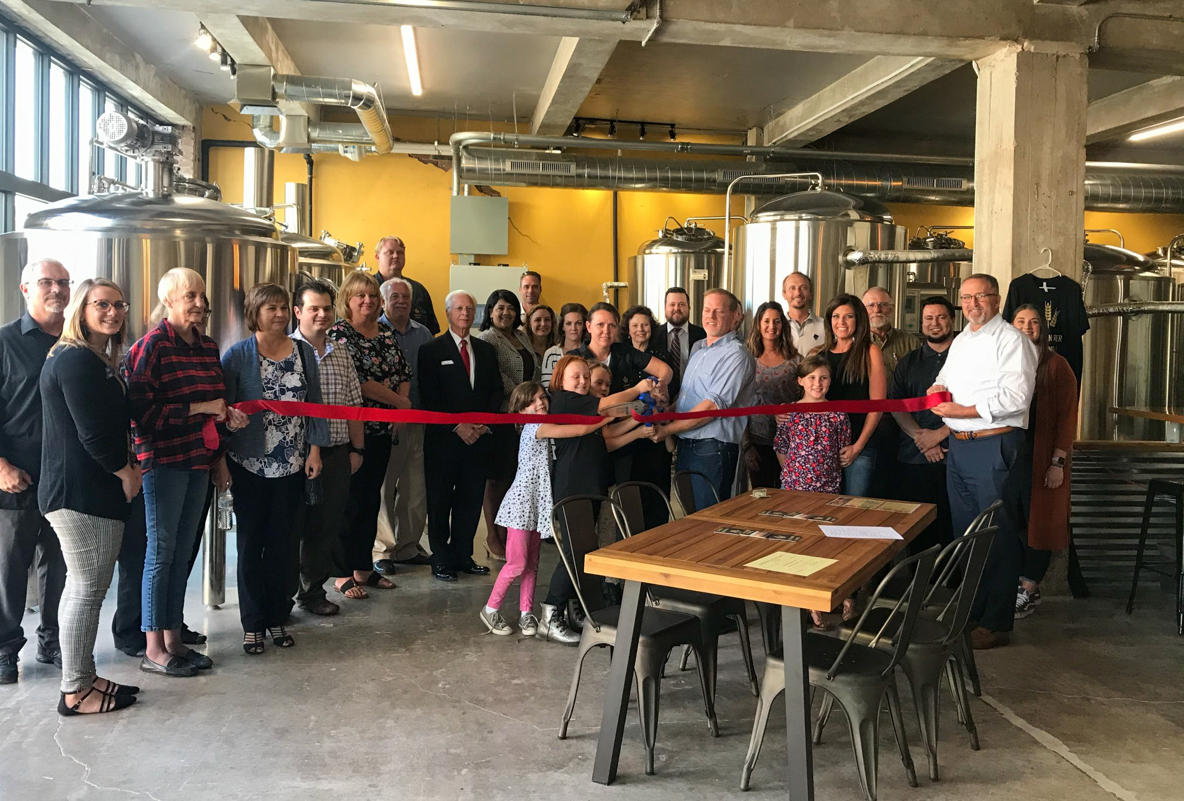 2019 Canadian River Brewing Co. Ribbon Cutting Image