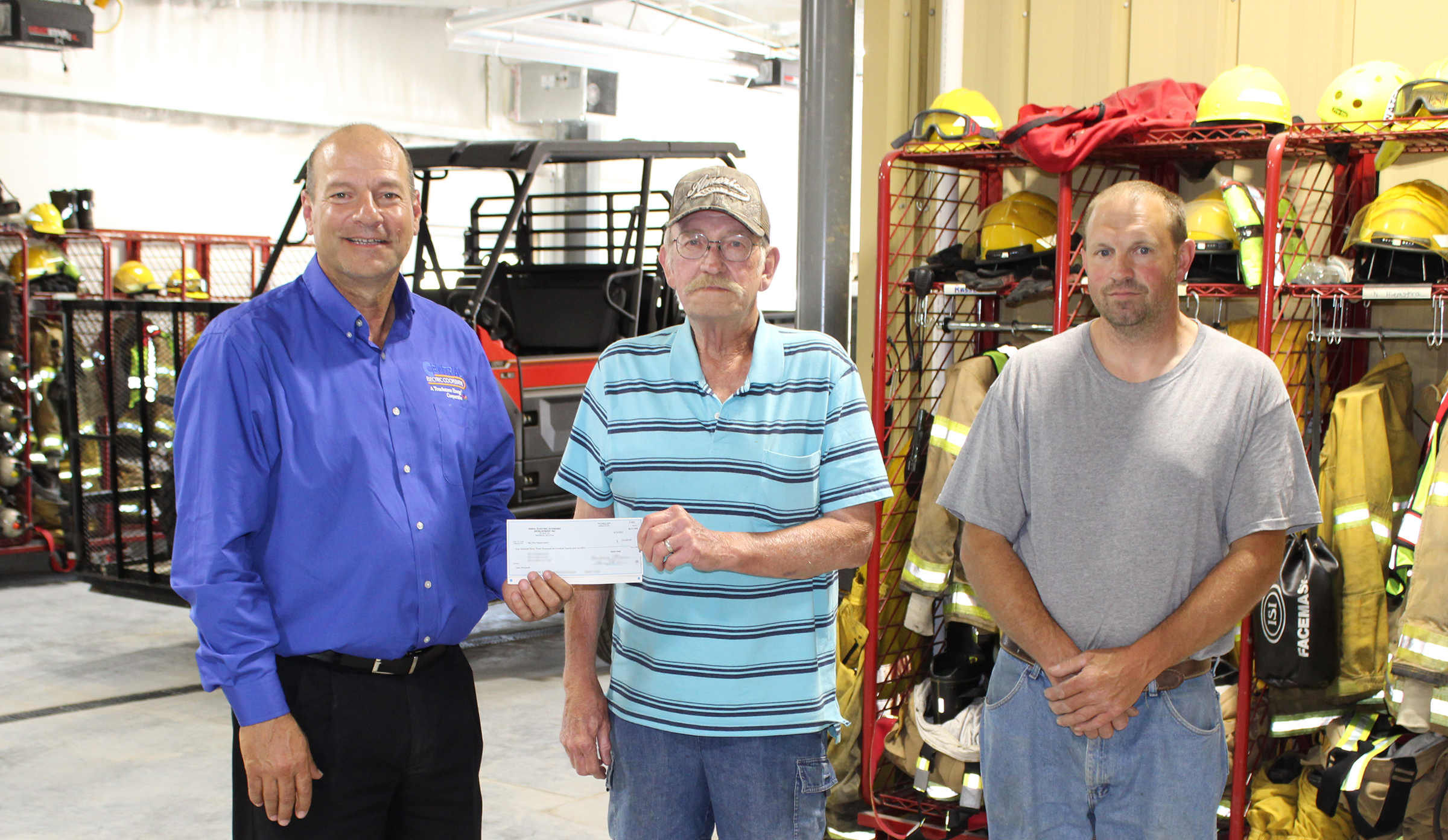T&C Fire Department receives loan from Central Electric's REED Fund Main Photo