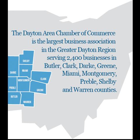 Dayton Chamber Map