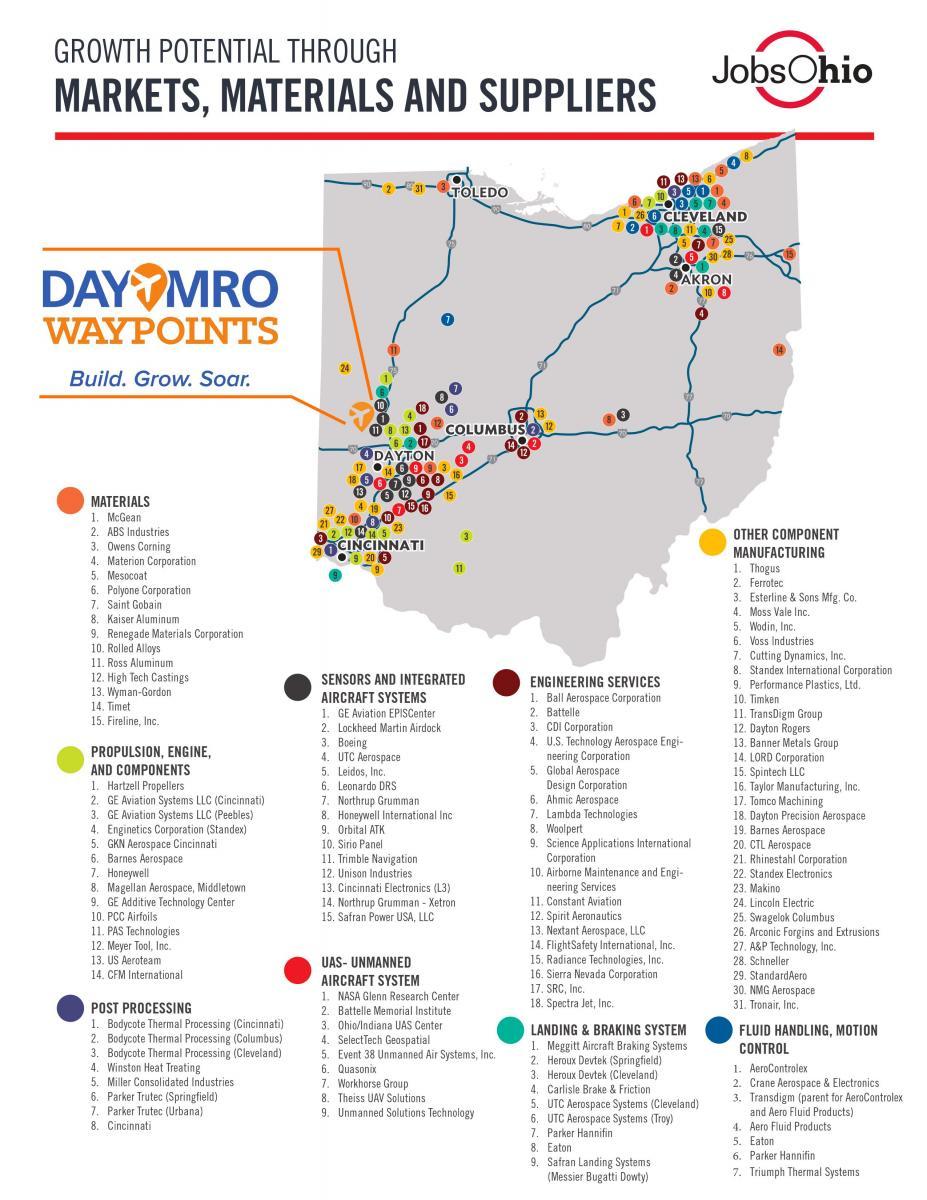 MRO Ohio Map