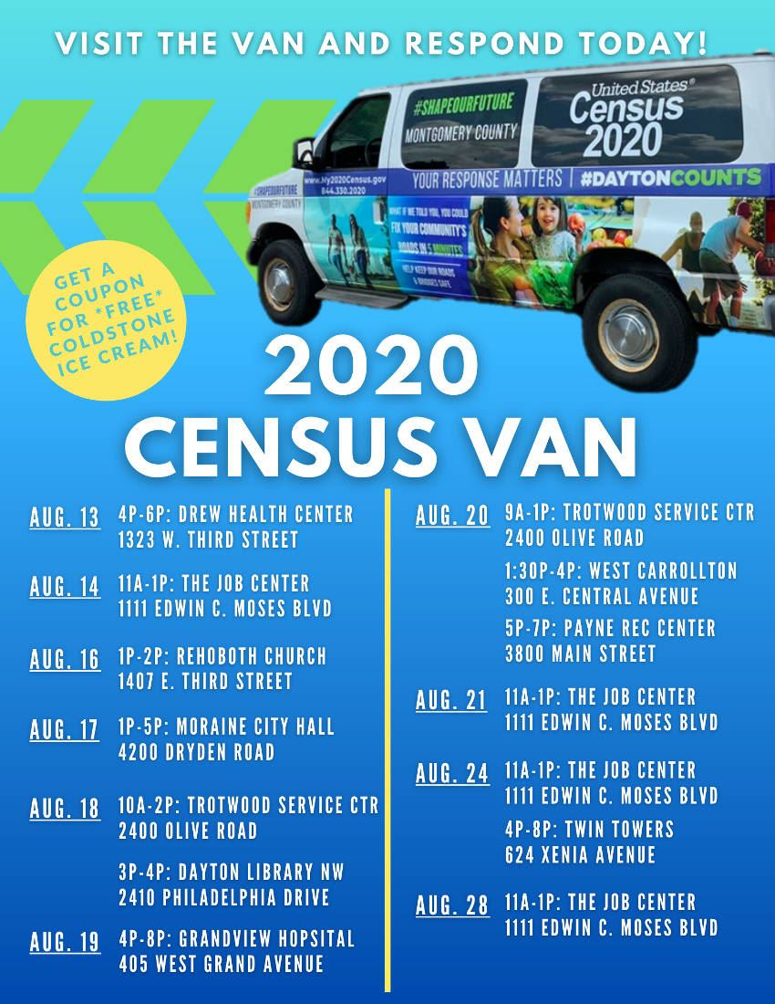 Montgomery County's 2020 US Census Count Determines Its Share of Federal Funding: Deadline is Soon Main Photo
