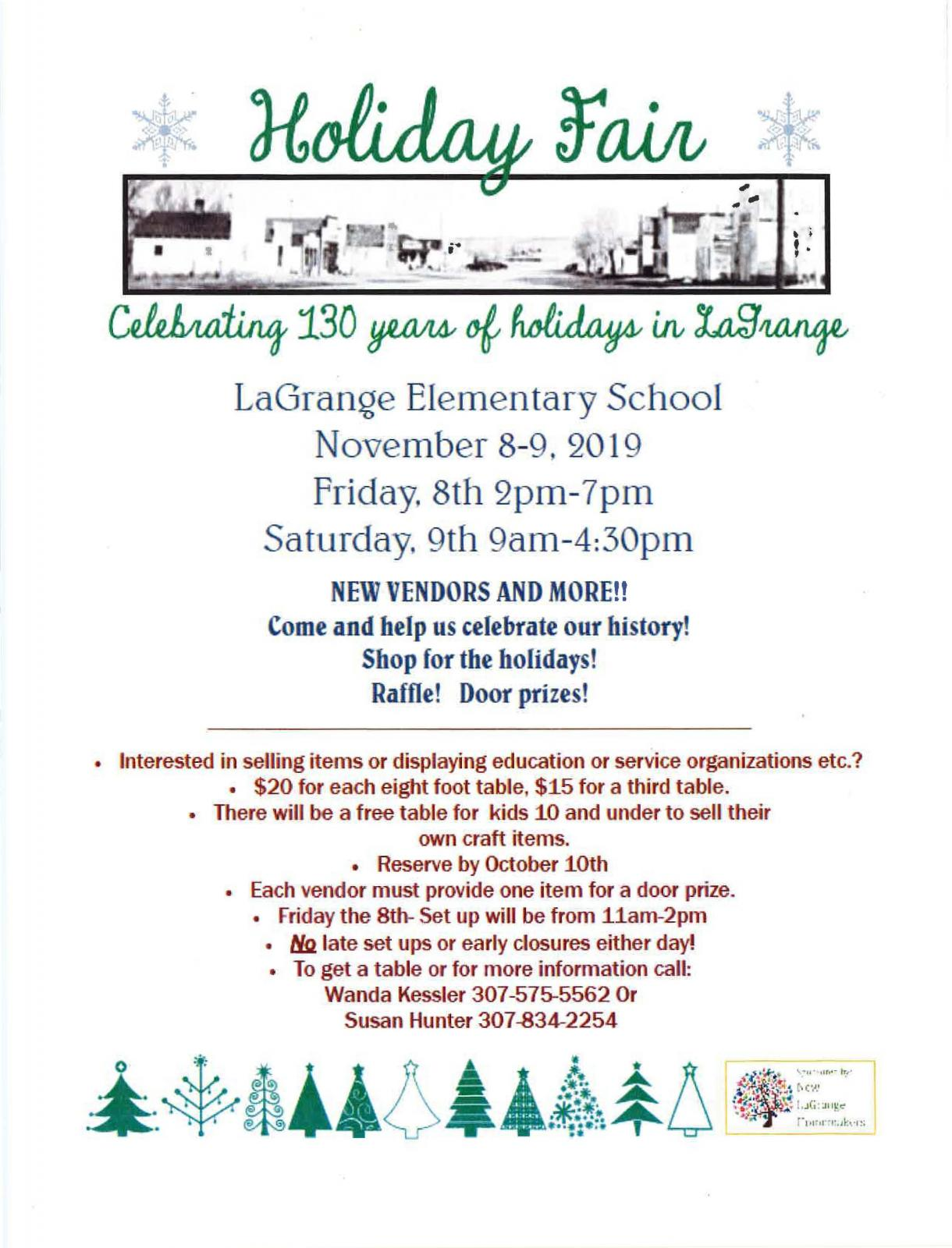 Event Promo Photo For Holiday Fair Celebrating 130 years in LaGrange