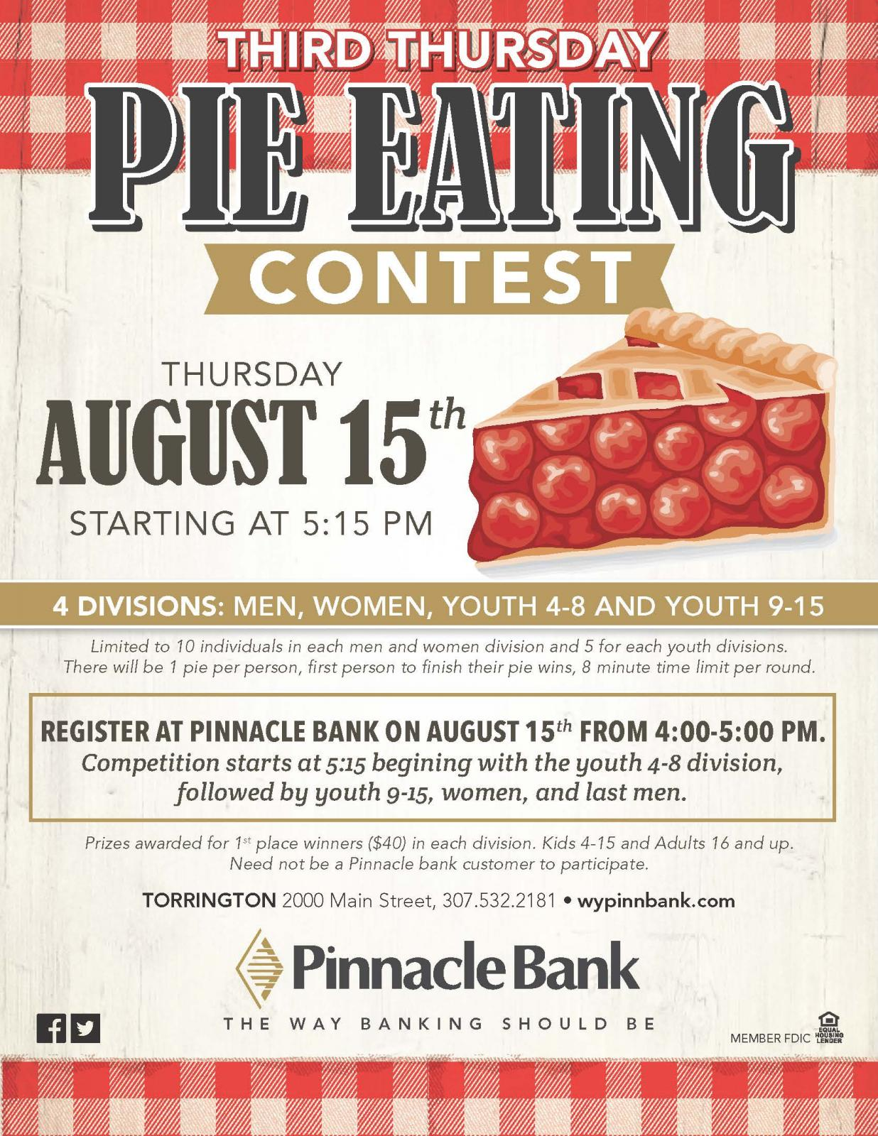 Pie Eating Contest Photo