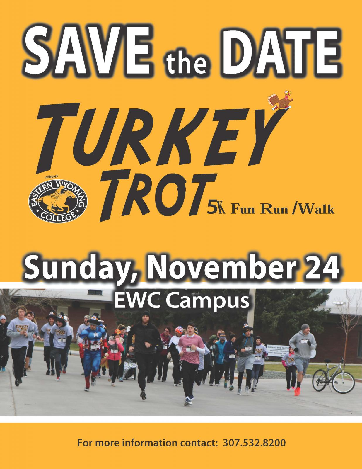 Event Promo Photo For EWC Turkey Trot 5k