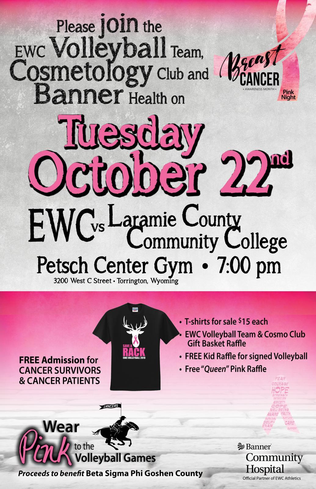 Pink Night at EWC Photo