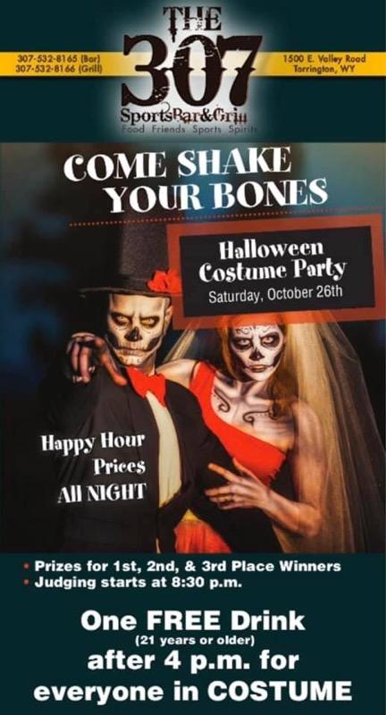 307 Halloween Party Photo