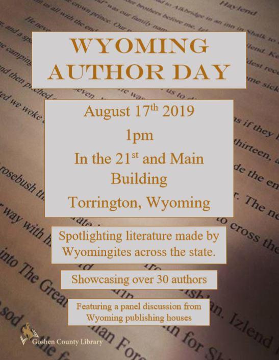 Wyoming Author Day Photo
