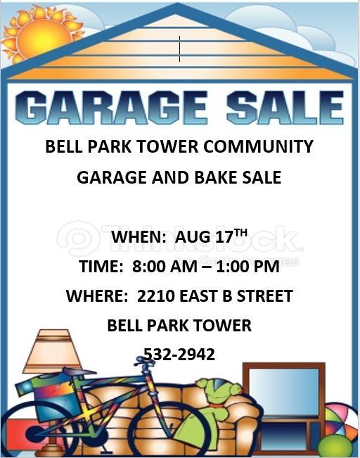 Bell Park Garage Sale Photo