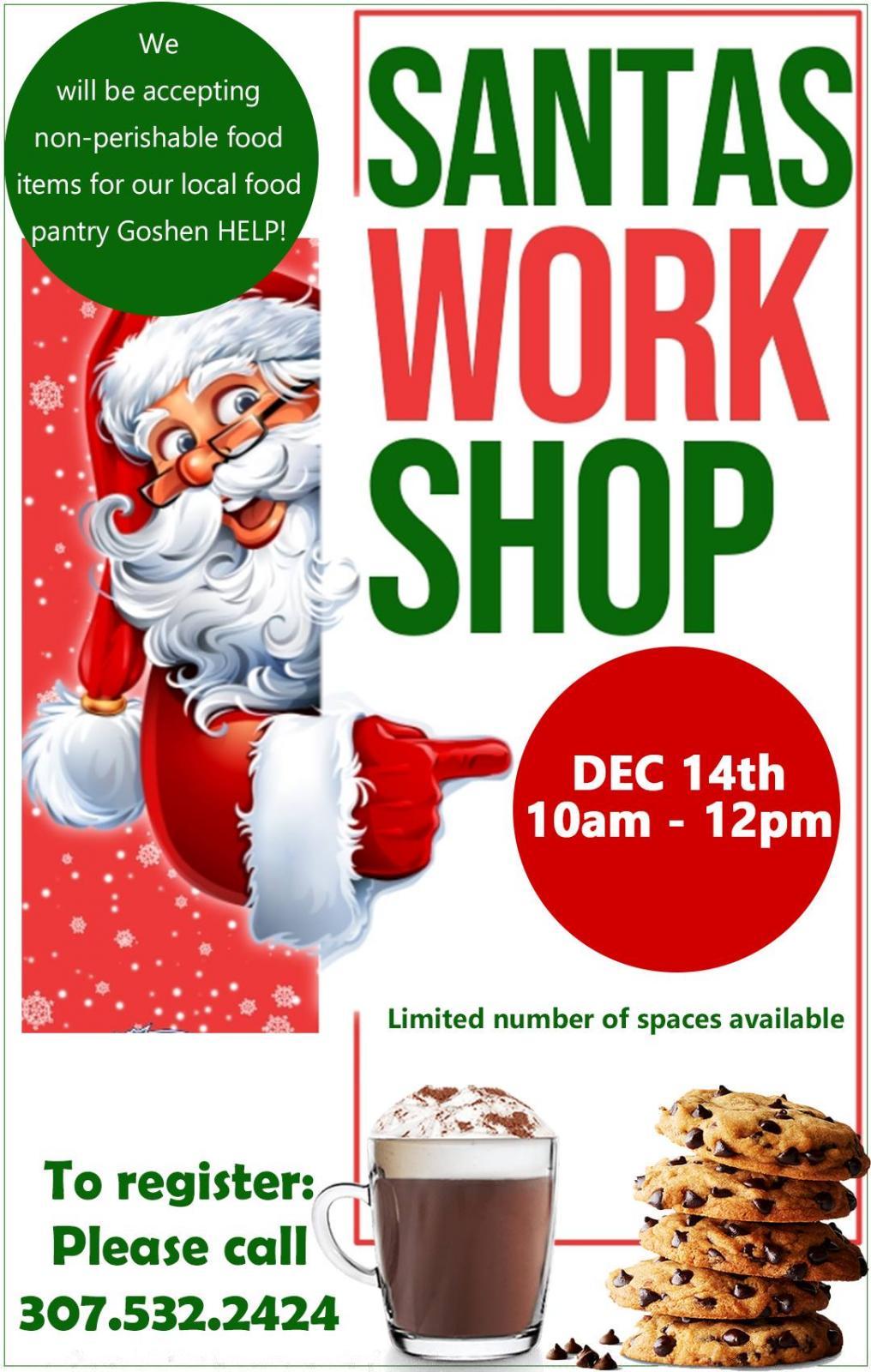Bloedorn Santas Work Shop Photo