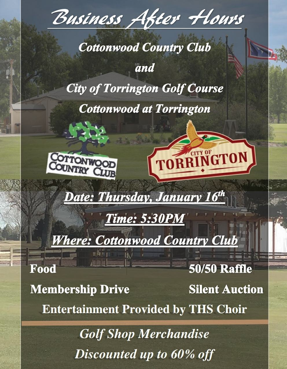Business After Hours at Cottonwood Country Club & City of Torrington Golf Course Photo