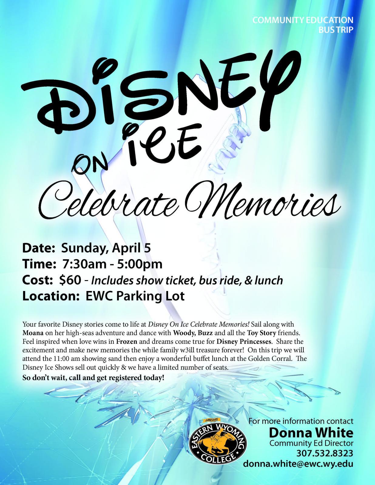 Disney on ice Celebrate Memories Photo