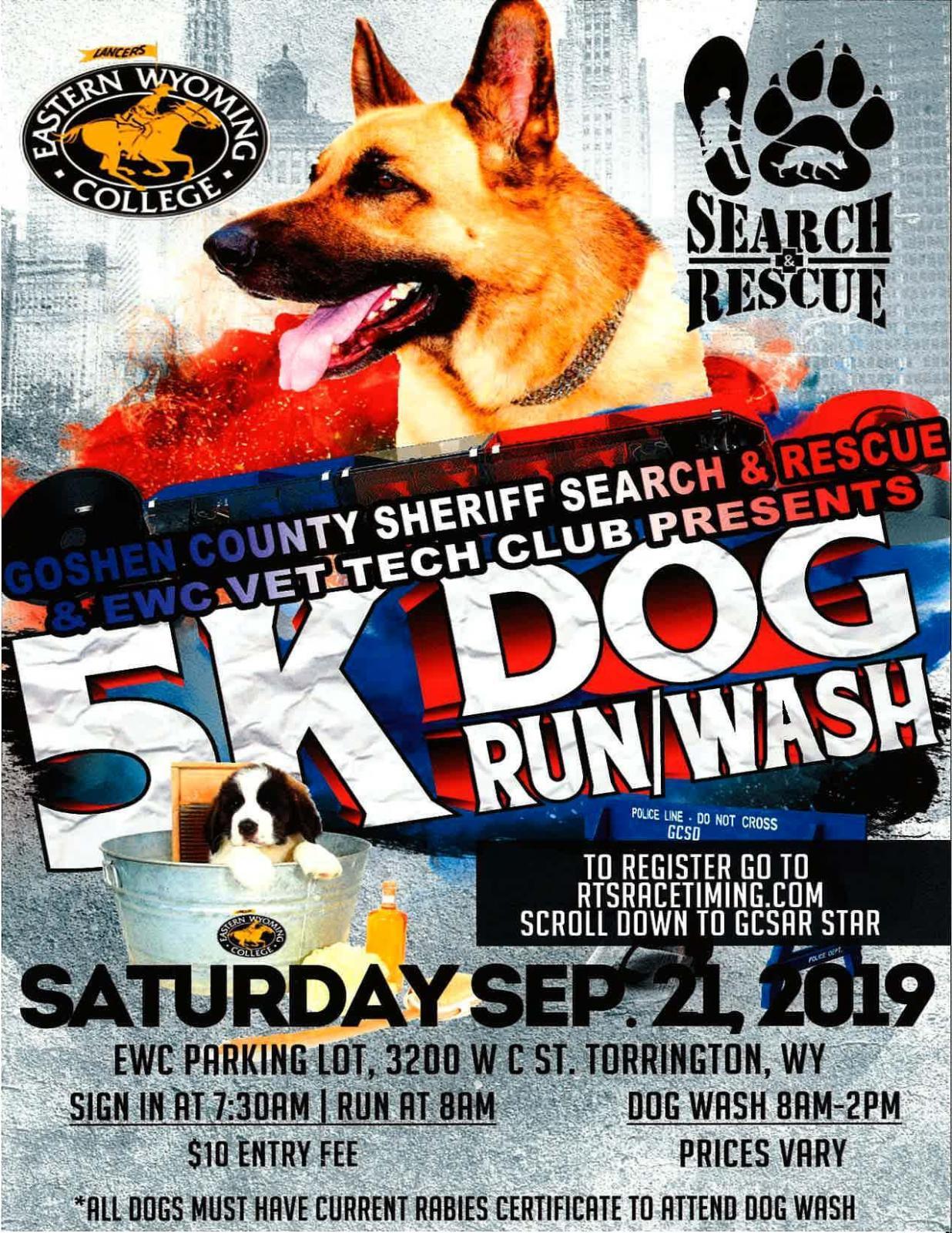 5K Dog Run/Wash Photo