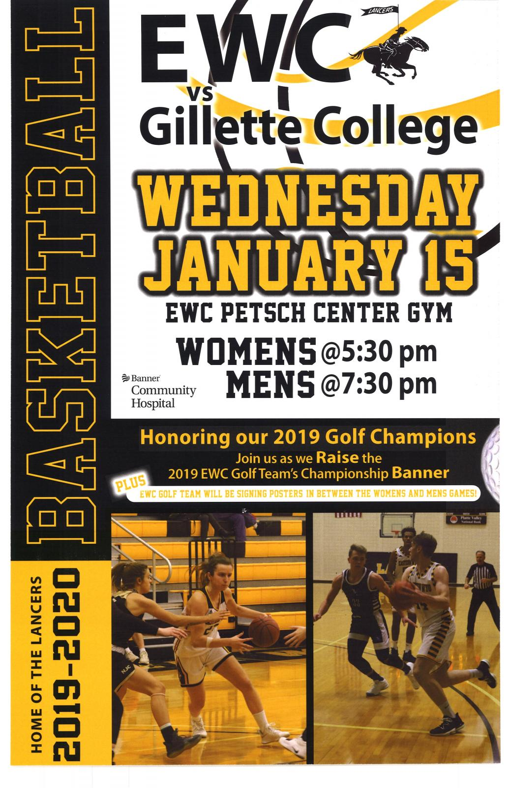 EWC Womens & Mens Basketball Photo