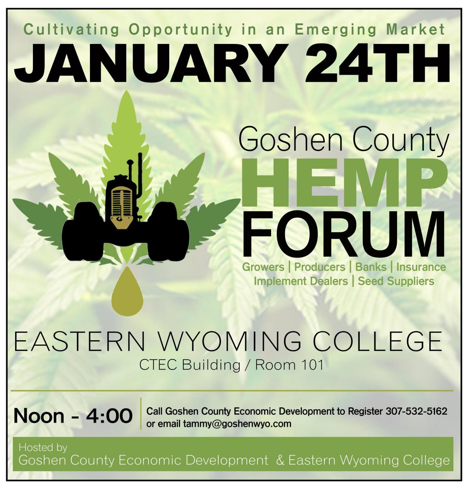 Goshen County Hemp Forum Photo