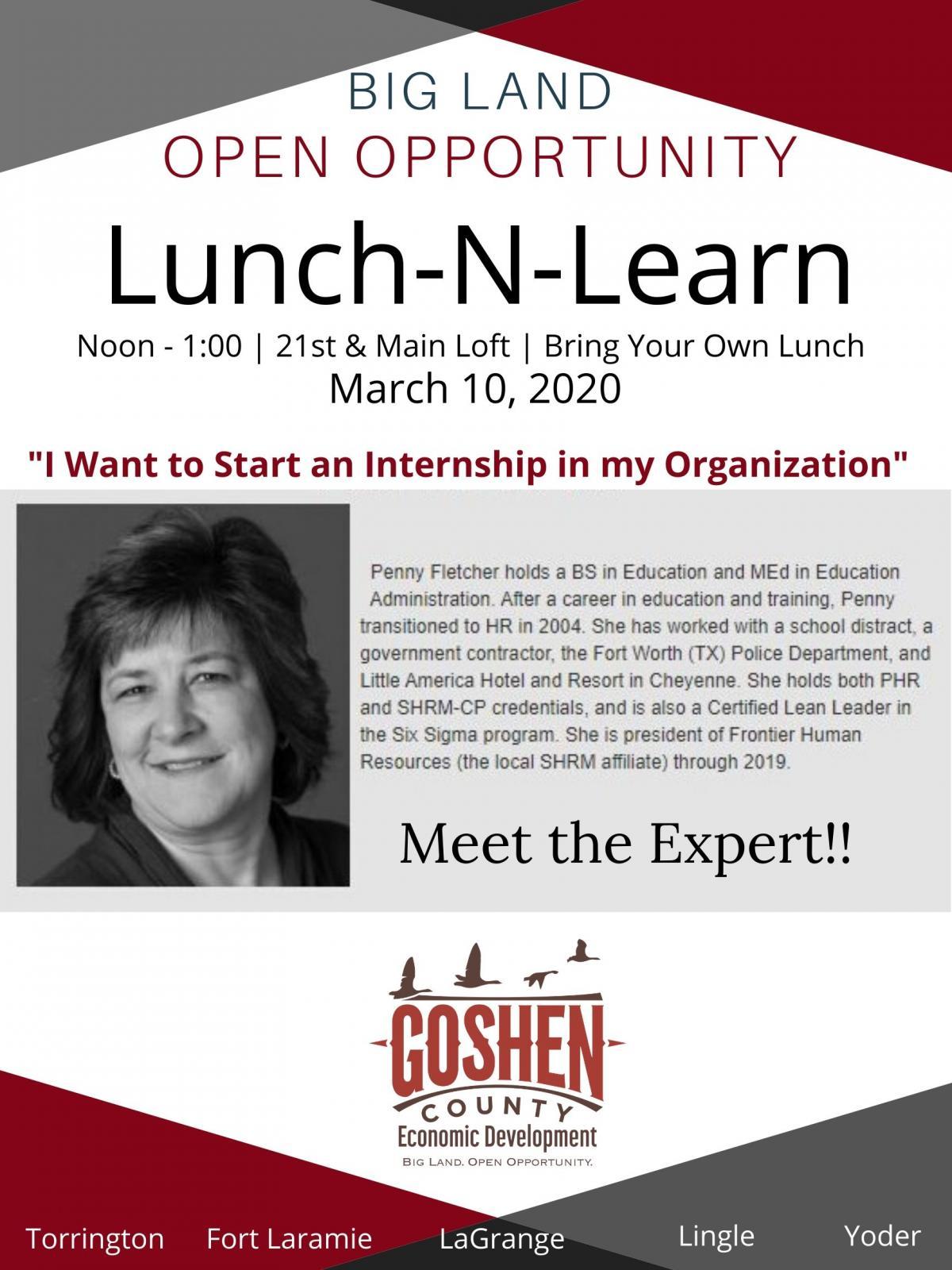 Lunch-N-Learn Internships Photo
