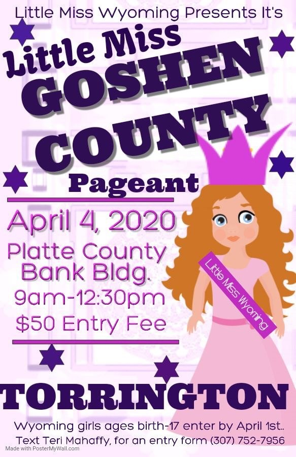 Little Miss Goshen County Pageant Photo