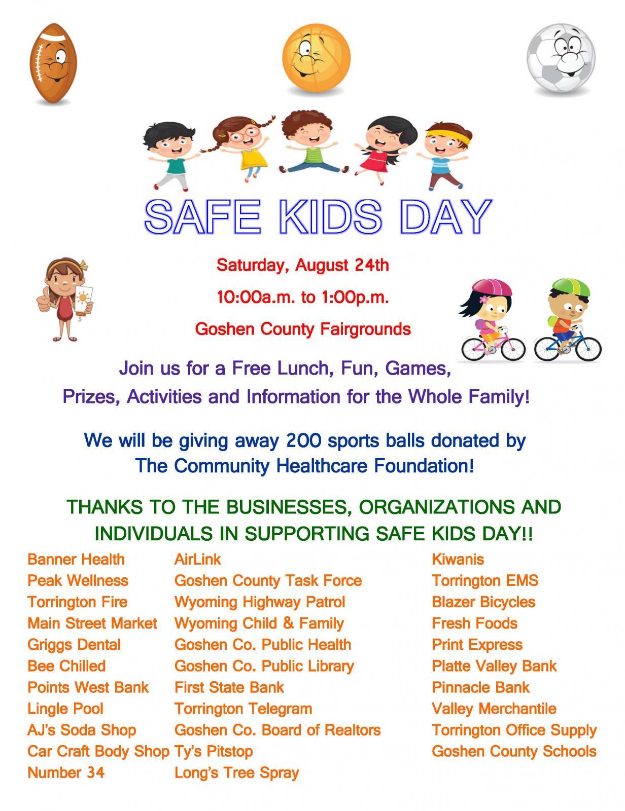 Safe kids Day Photo