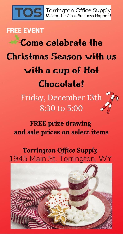 Torrington Office Supply Christmas Celebration Photo