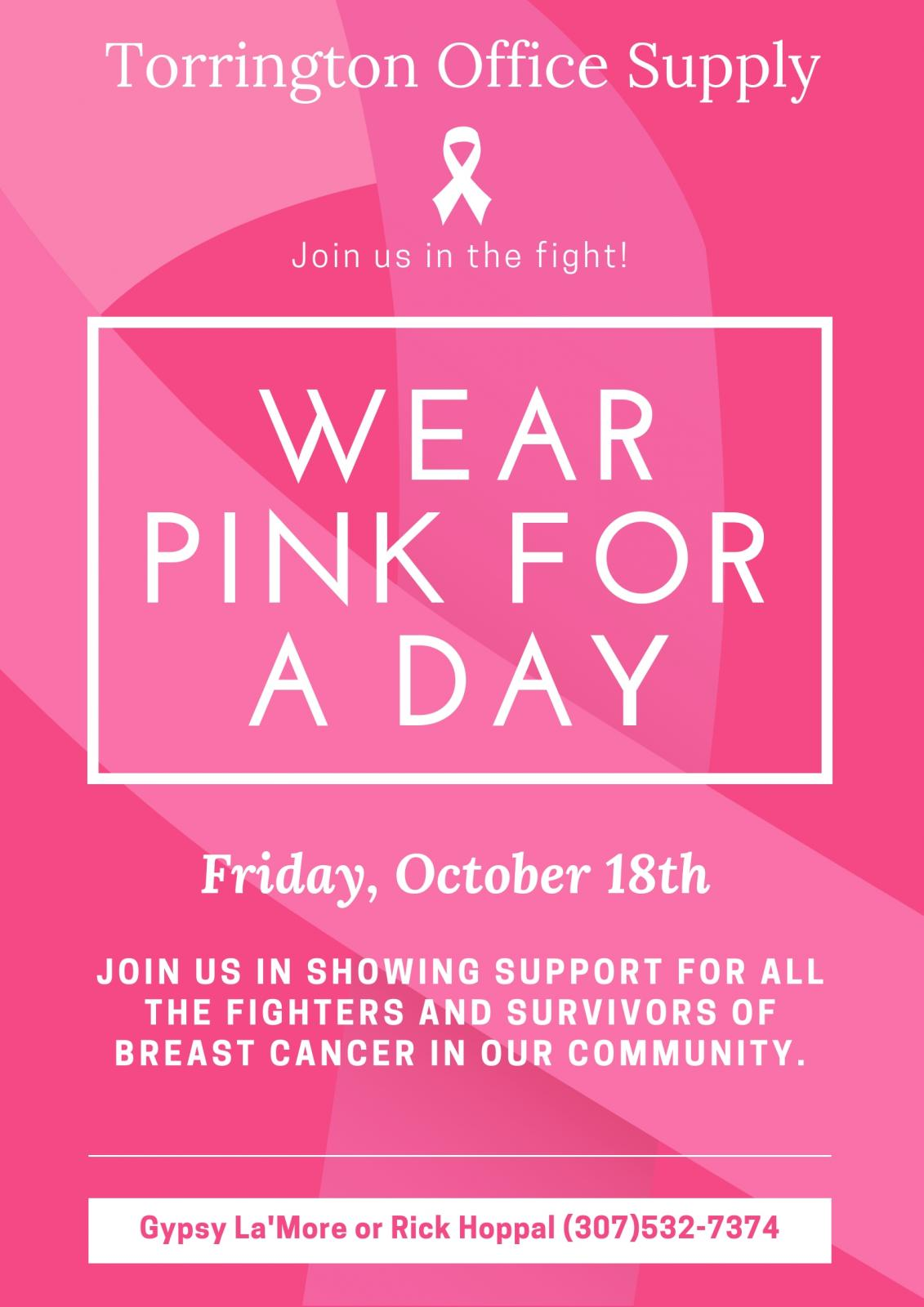 Wear Pink for a Day Photo