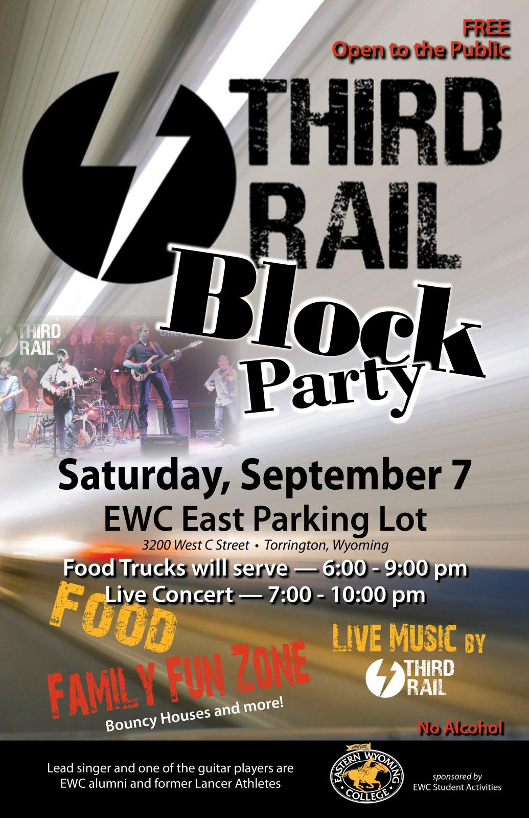 Event Promo Photo For Third Rail Block Party