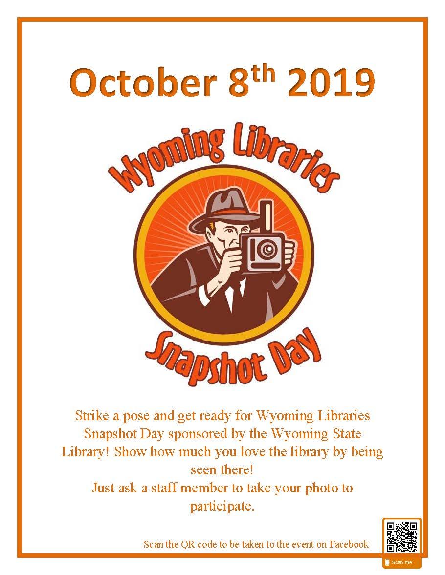 Wyoming Libraries Snapshot Day Photo