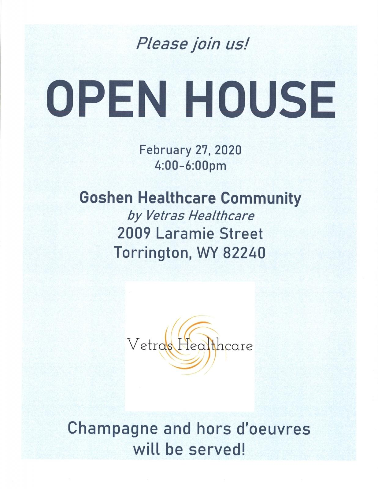 Open House - Goshen Healthcare Community Photo