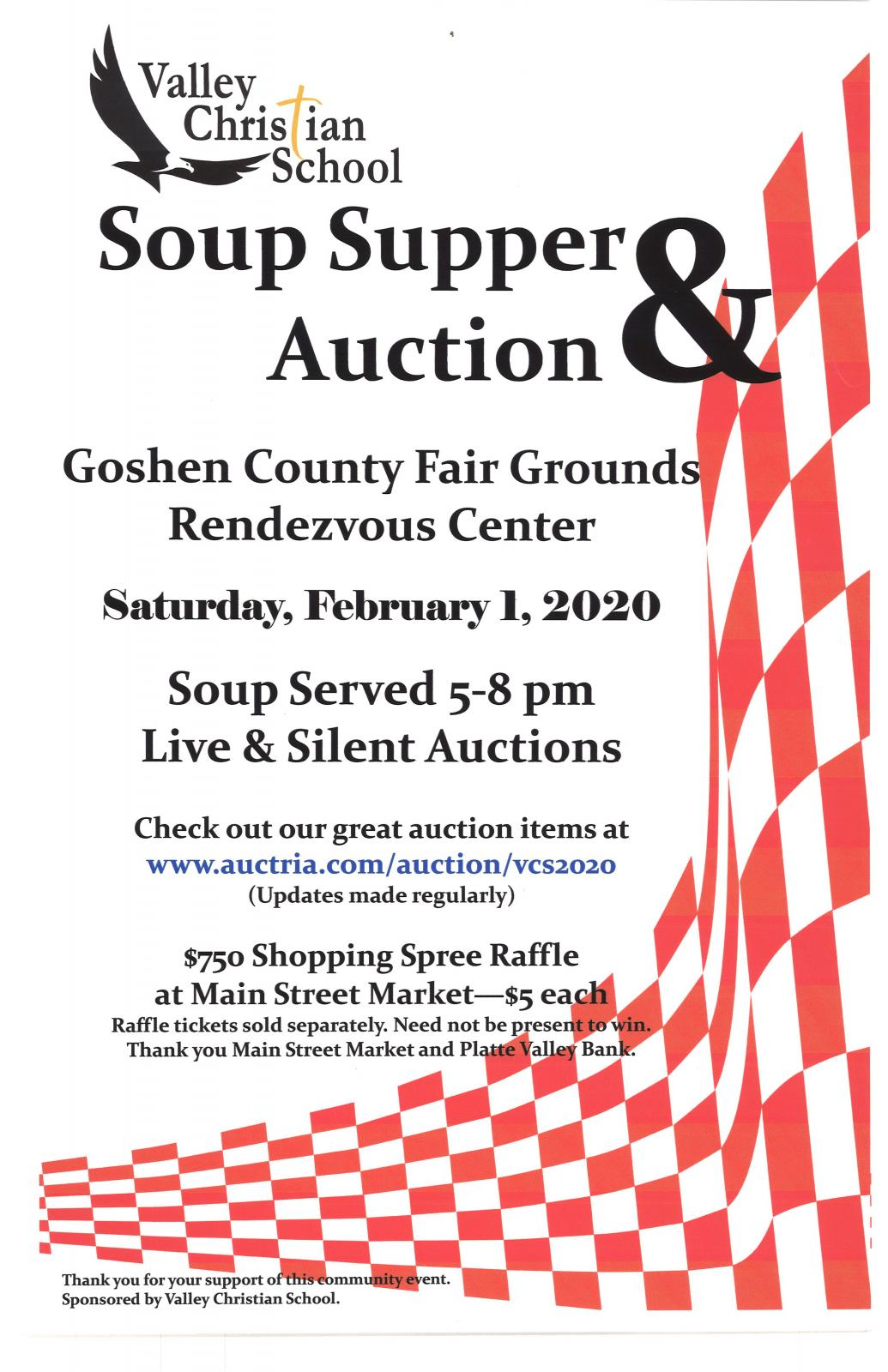 Valley Christian School Soup Supper & Auction Photo