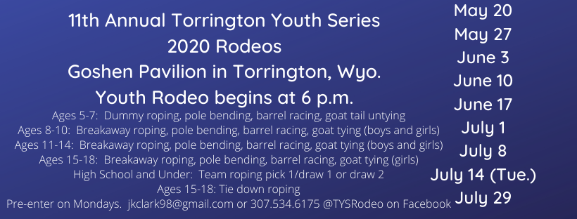 11th Annual Torrington Youth Series 2020 Rodeo Photo