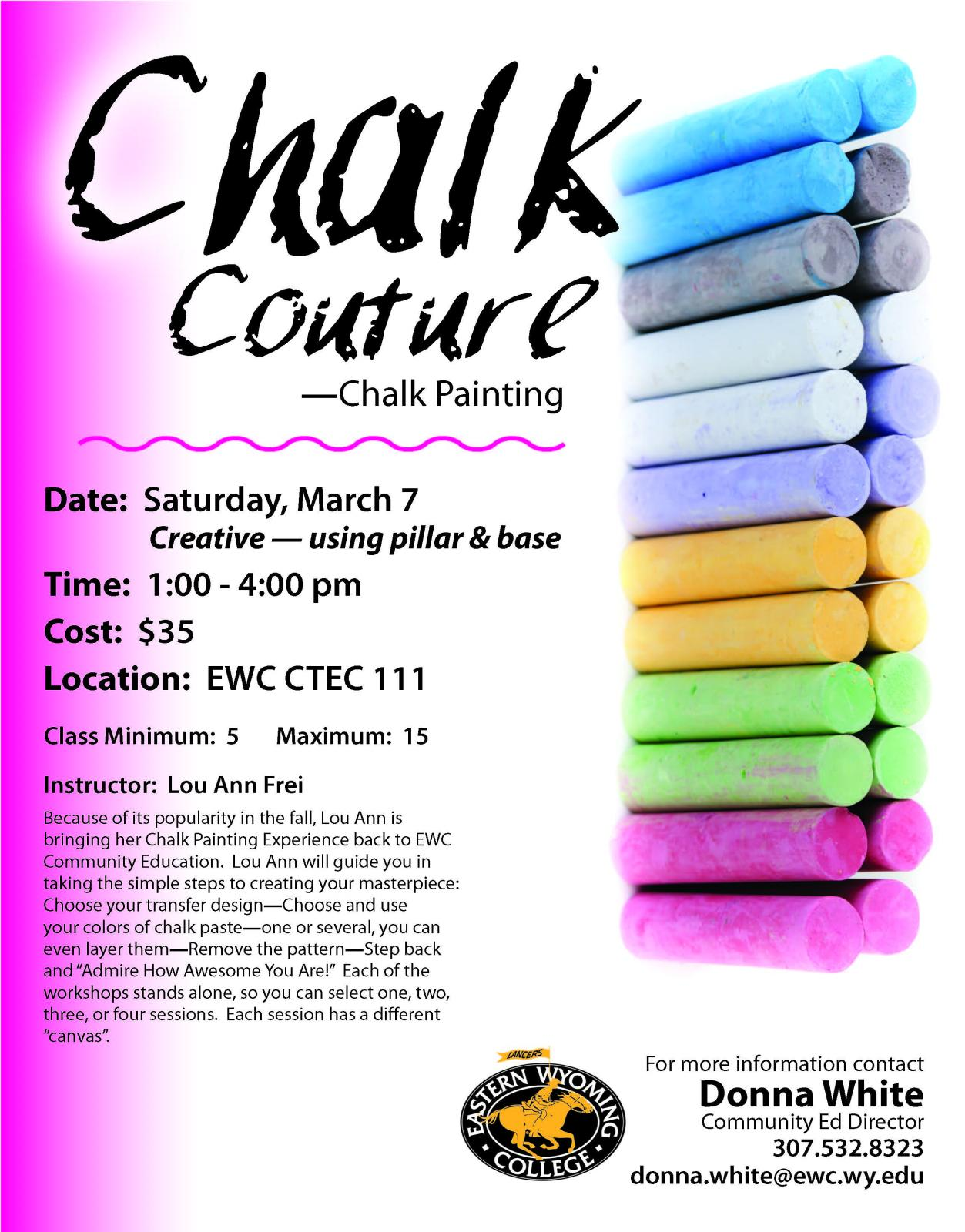 Chalk Couture - Chalk Painting Photo