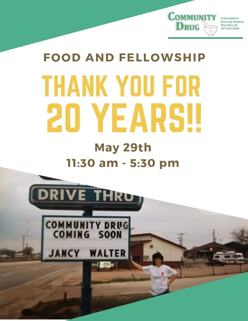Community Drug - Thank You for 20 years! Photo