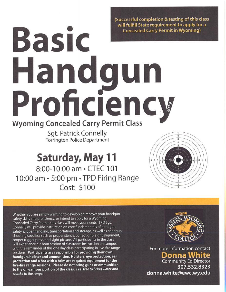 Basic Handgun Proficiency Photo