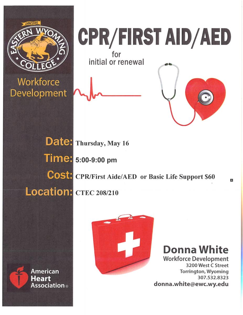 CPR/ FIRST AID/ AED Photo
