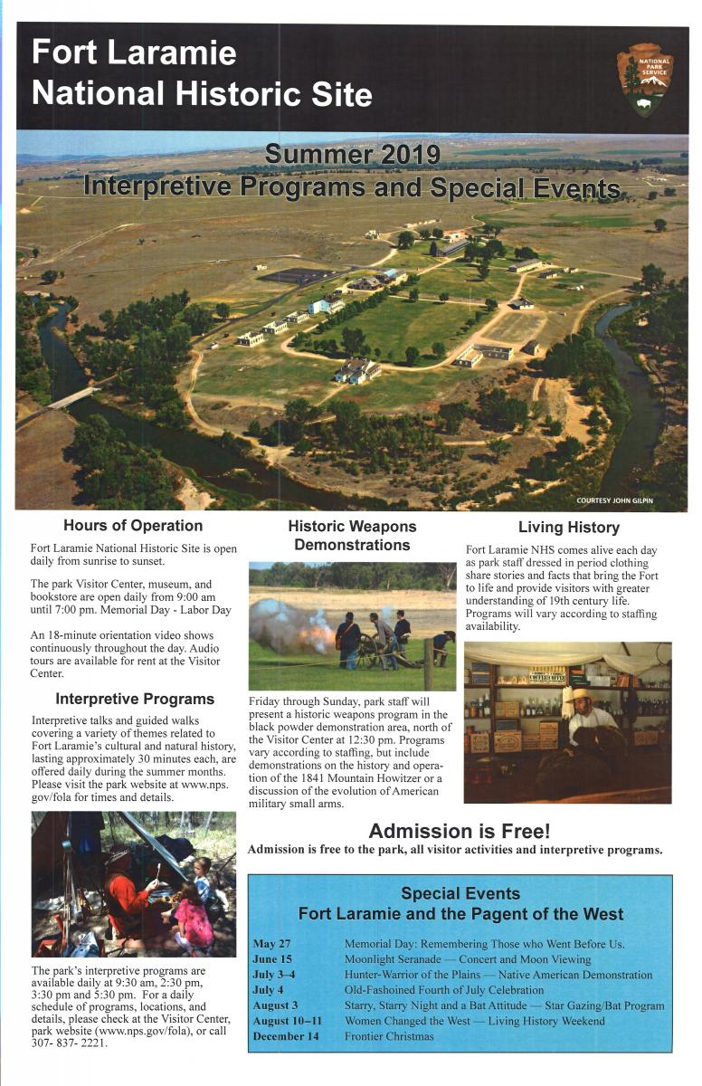 Event Promo Photo For Fort Laramie National Historic Site