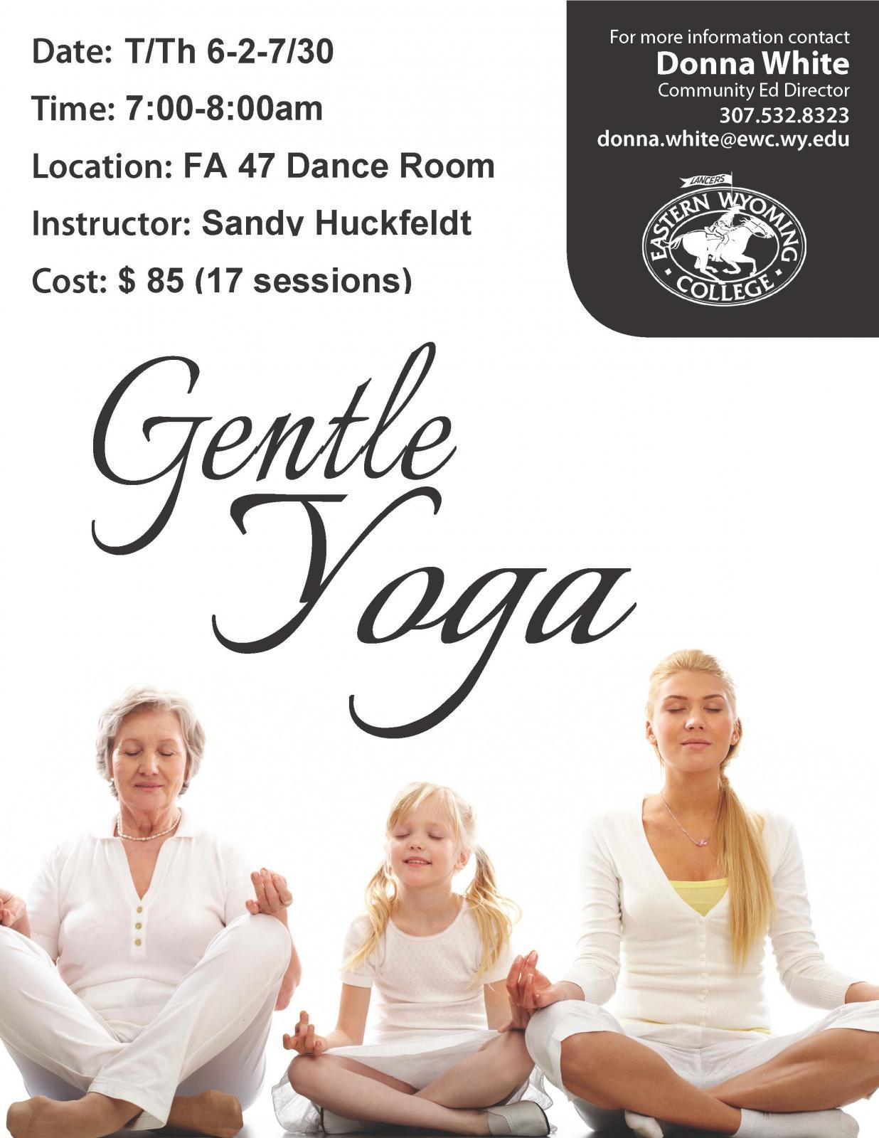 Gentle Yoga Photo