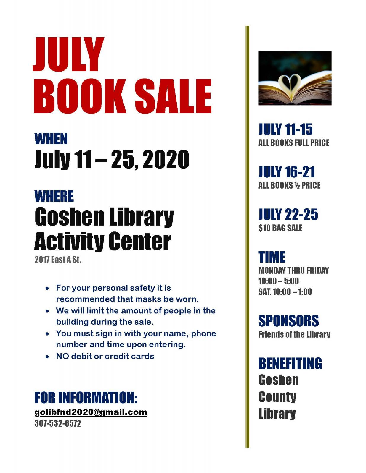 Friends of the Library Book Sale Photo