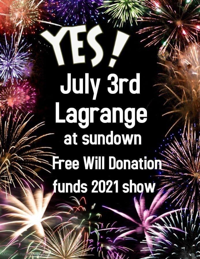 LaGrange Fireworks Photo