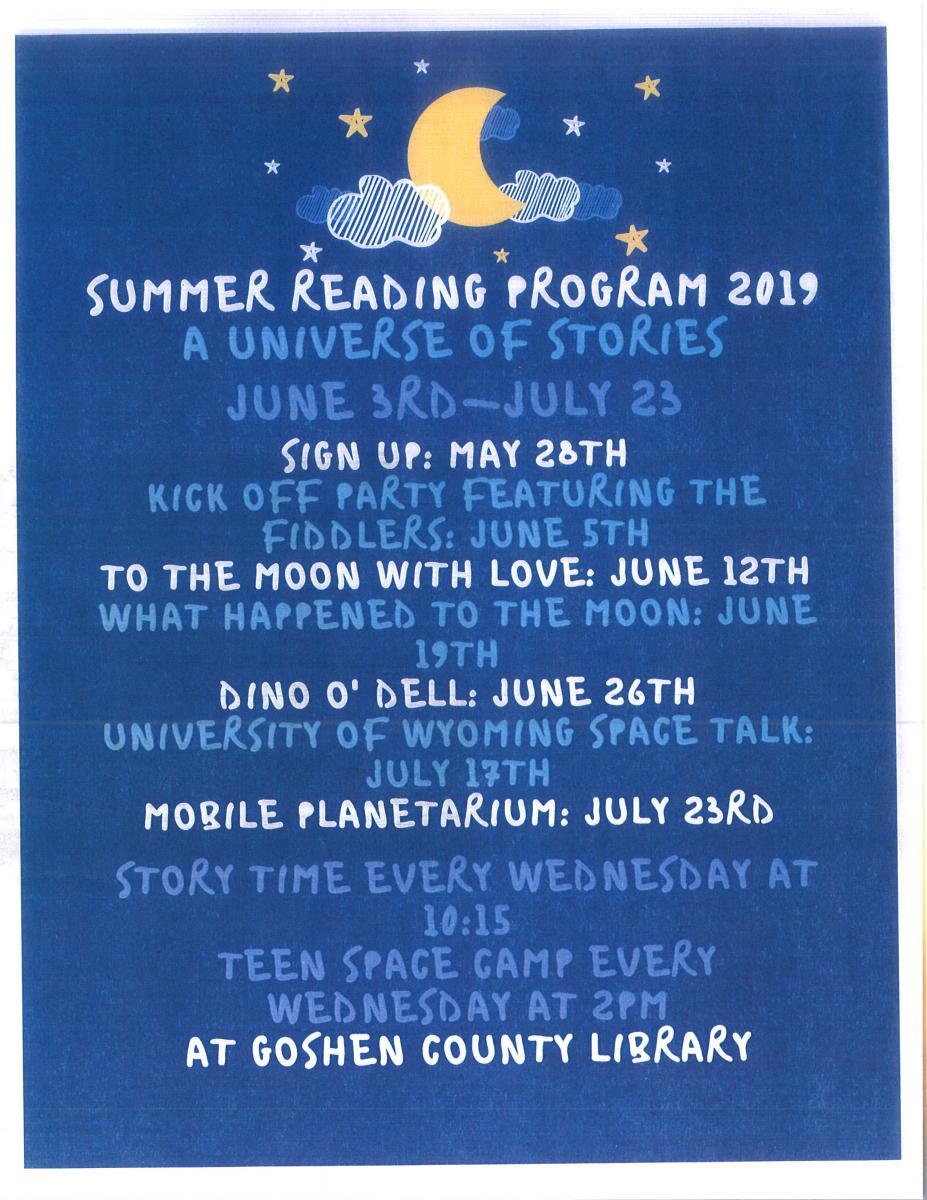 Summer Reading Program Photo