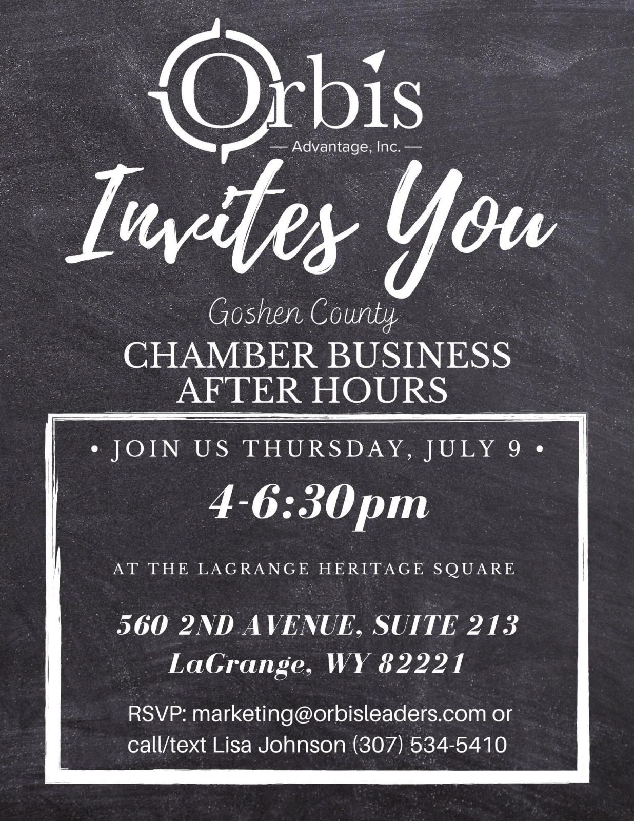 Orbis Advantage, Inc. Business After Hours Photo