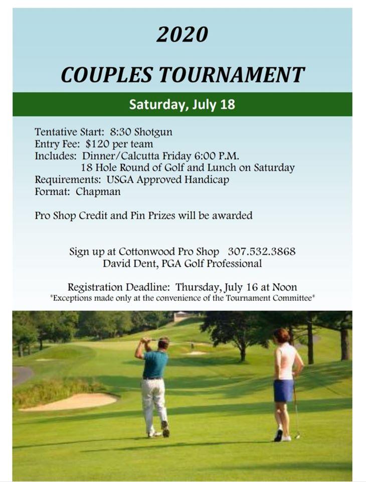 Couples Golf Tournament Photo