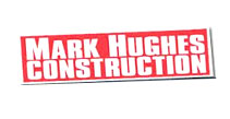 Mark Hughes Construction  Logo