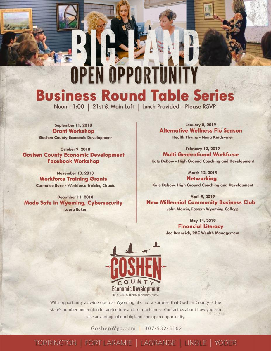 2019 Business Round Table Series