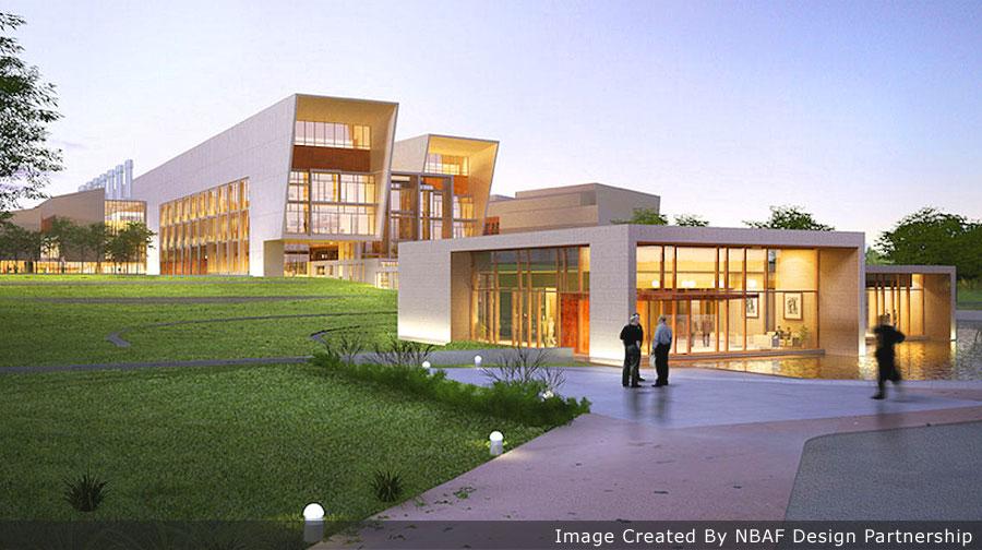 NBAF building exterior