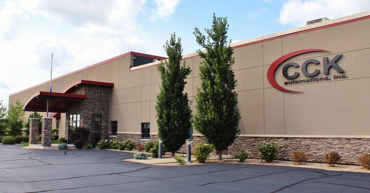 CCK automations building exterior