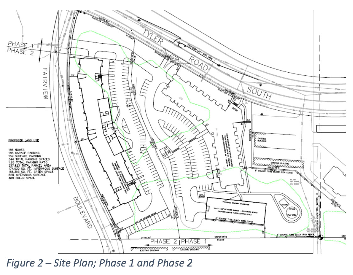 park place site map