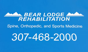 Bear Lodge Rehabilitation Slide Image
