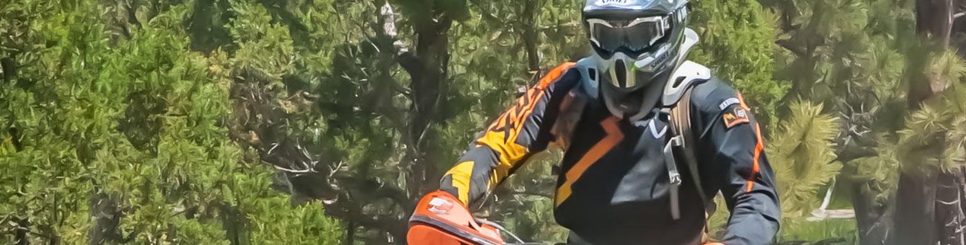 offroad biker