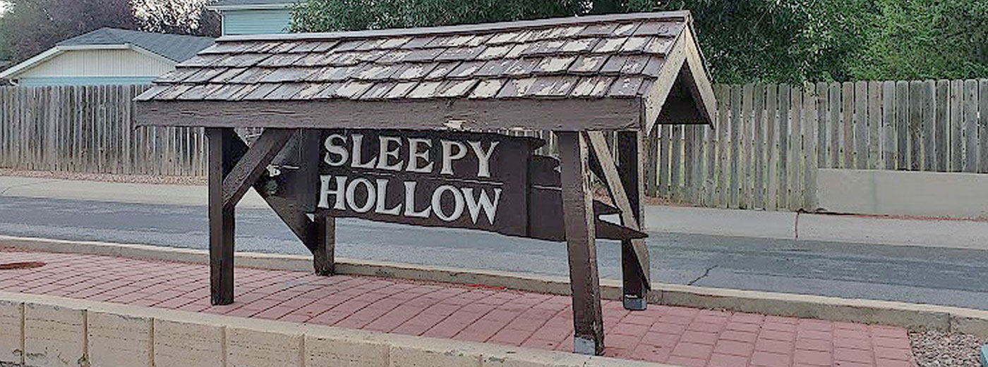 sleepy hollow sign